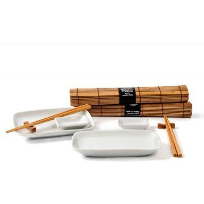 Japanskt Sushi Set - Natur - till 2 personer