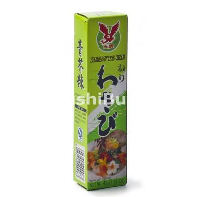 Wasabi Pasta på tub - 43 gram - JH Foods